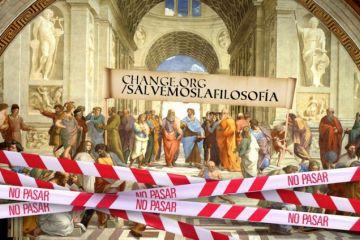 Campaña ciudadana para salvar la Filosofía