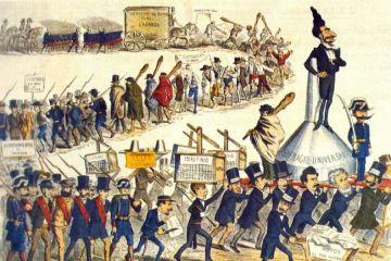 Sistemas políticos en España durante los siglos XIX y XX